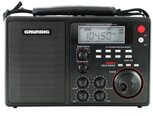 GS450DL Grundig Field Radio