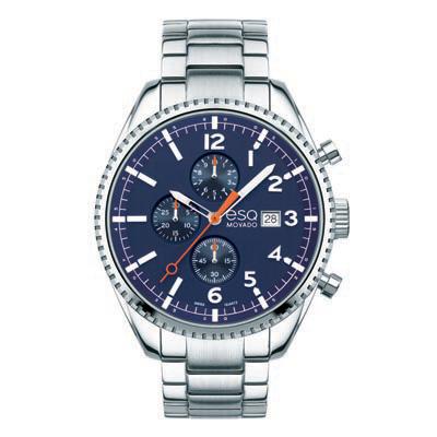 07301429 ESQ Men's Catalyst Chronograph Watch with Dark Blue Dial