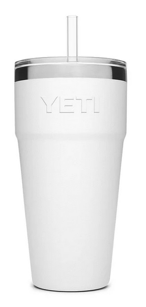 Yeti 26oz. Rambler Stackable Cup with Straw Lid