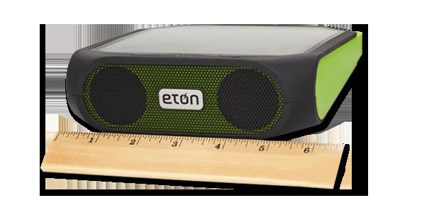 Rugged Rukus Eton All-Terrain Portable Solar Wireless Sound System