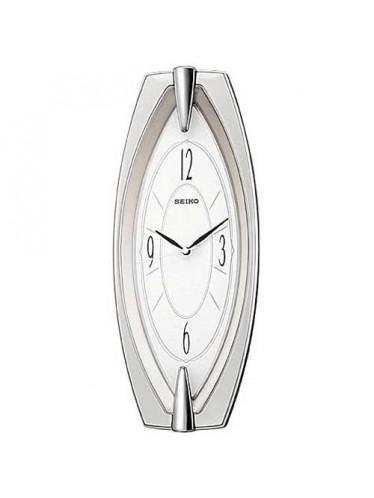 Seiko QXA342SRH Glass Wall Clock