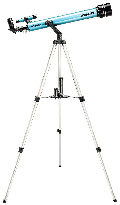 "30060402 Tasco Novice 2.4""/60mm Refractor Telescope Kit"
