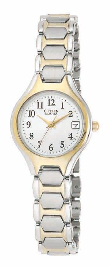EU2254-51A Citizen Women's Quartz Two Tone Stainless Steel Bracelet Watch