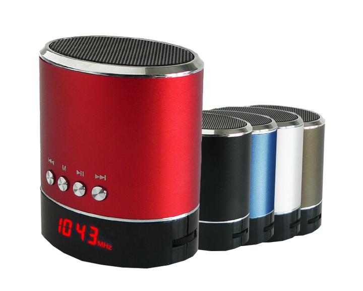 SuperSonic® IQsound® Portable Speaker w/USB, Micro SD, AUX Input & FM Radio