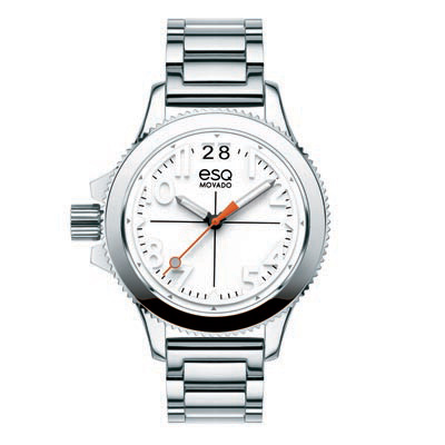 07101404 ESQ Ladies Lefty Fusion Watch with White Dial