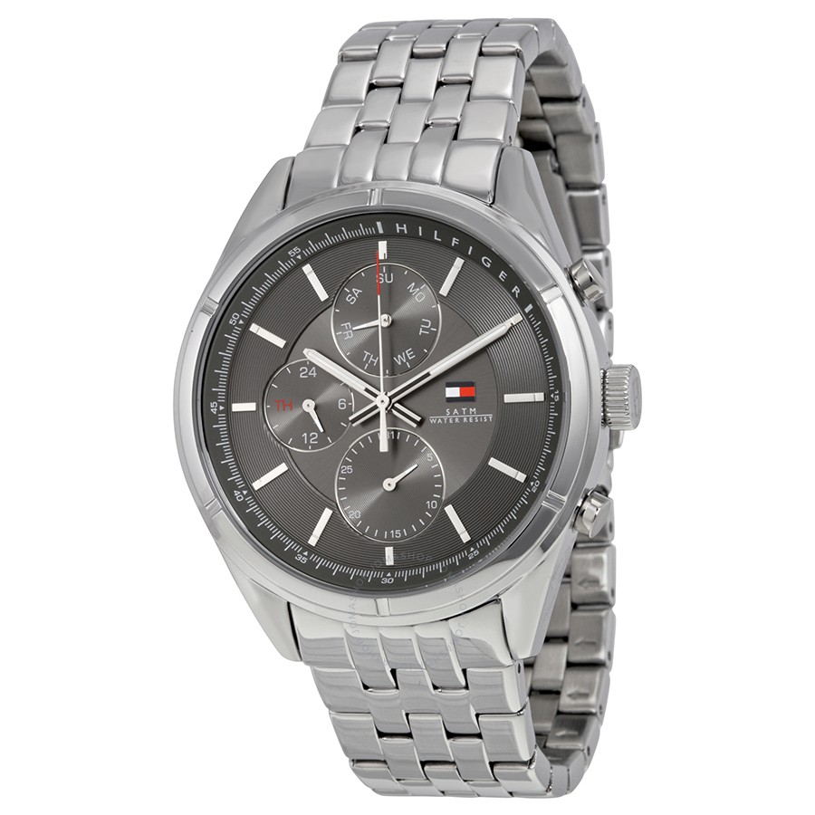 1791130 Tommy Hilfiger Men's Stainless Steel watch W/ Dark Gray Chronograph Dial
