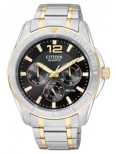 AG8304-51E Citizen Quartz Mens Sports Multifunction Stainless Watch
