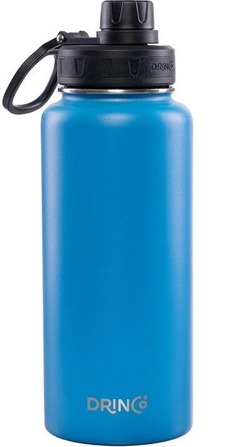 Vacuum Insulated Water Bottle 32oz in Royal Blue