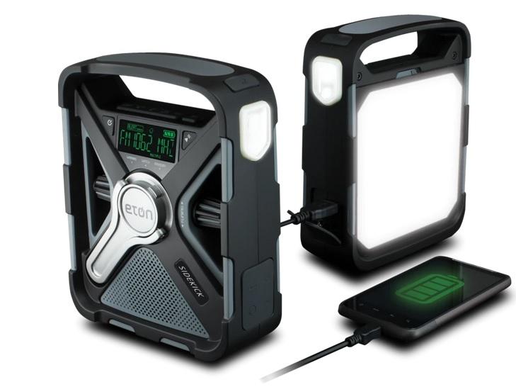 NFRX5SIDEKICK Eton SIDEKICK Weather Alert Radio with Bluetooth