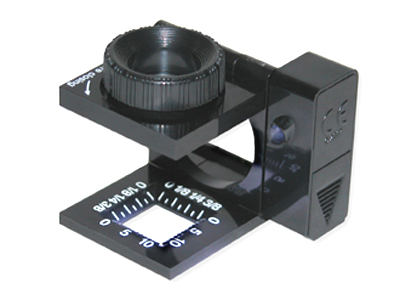 LT-10 Carson Lighted Linen Test Magnifier