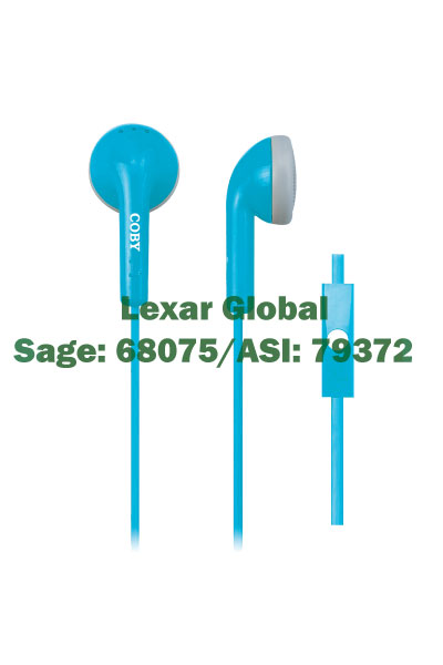 CVE-109 Coby Tangle-Free Stereo Earbuds
