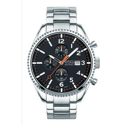 07301427 ESQ Men's Catalyst Chronograph Watch with Black Dial