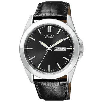 BF0580-06E Citizen Men's Black Croc Embossed Leather Strap Watch