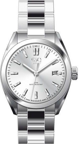 7301358 ESQ by Movado Men's stainless steel bracelet watch