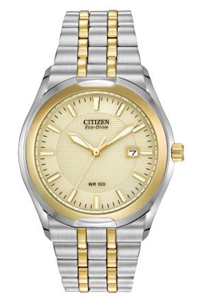 BM6844-57P Citizen Men's Eco Drive Corso Two-Tone Stainless Steel Bracelet Watch