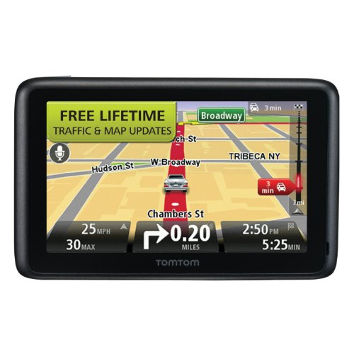 TOMGO2535TM TomTom Go 5-Inch Portable Bluetooth GPS Navigator with Lifetime Traffic & Maps