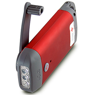Eton Clipray Flashlight with Smartphone Charger