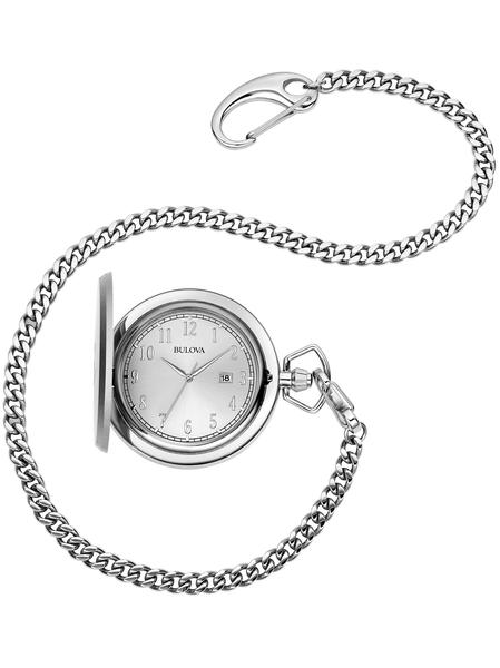 96B270 Bulova Mens Hunter Style Pocket Watch
