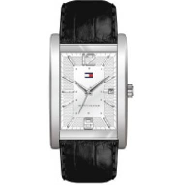 1710277 Tommy Hilfiger Men's stainless steel watch with leather strap
