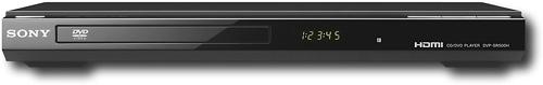 DVP-SR500H Sony 1080p HDMI Upscaling DVD Player