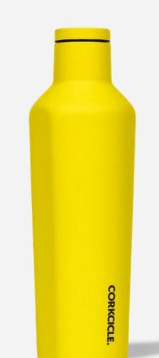 2025DNY Corkcicle 25oz Neon Lights Neon Yellow Canteen