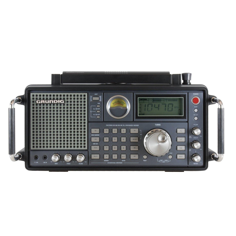 750 Grundig AM/FM-Stereo/Shortwave/Aircraft Band Radio with SSB (Single Side Band)