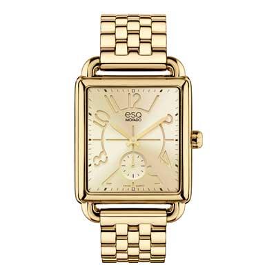 7101408 ESQ Ladies Origin Watch with Gold Dial