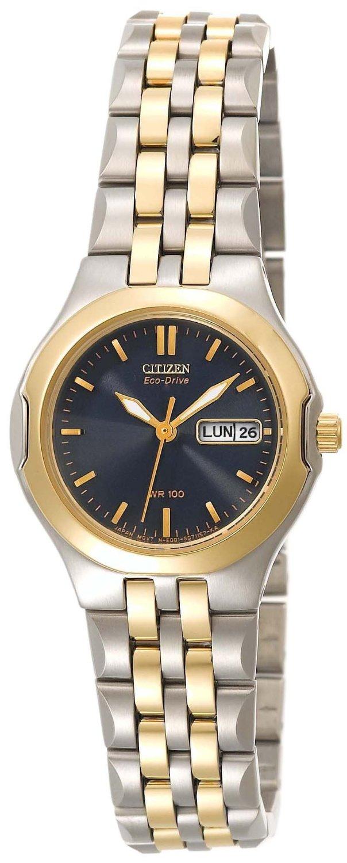 EW3124-58L Citizen Ladies Eco-Drive Corso Two-Tone Watch