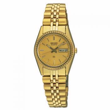 SWZ058 Seiko Women's Dress Gold-Tone Watch
