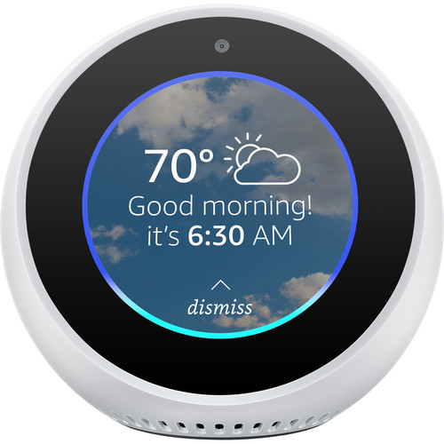 B073SRJD46 Amazon Echo Spot Alexa-enabled Speaker with 2.5