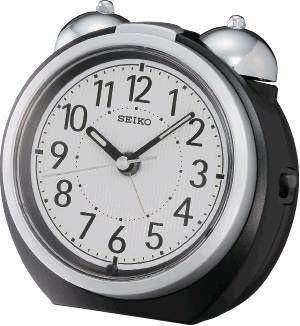 QXK118KLH Seiko Bedside Bell Alarm Clock