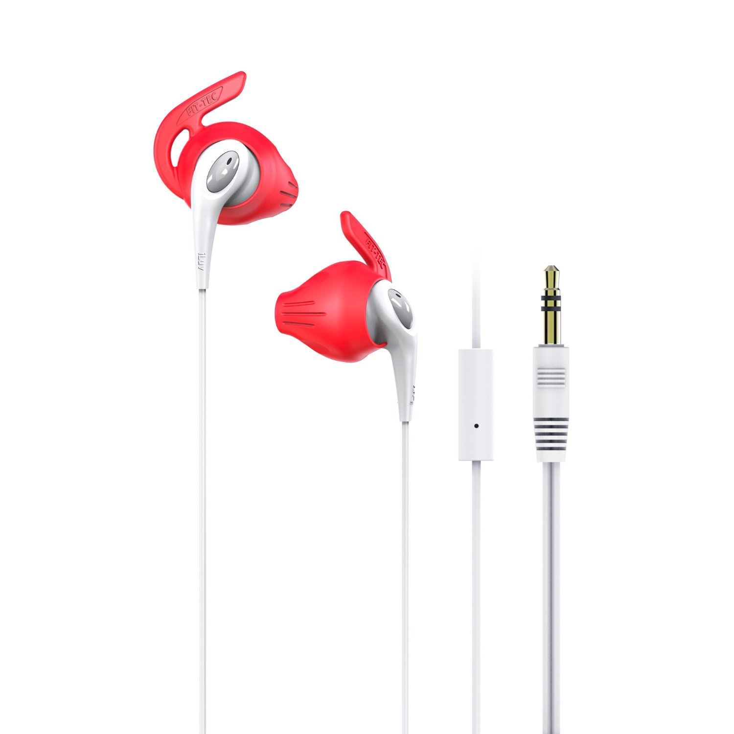 FITACTRUN FitActive Run High Fidelity Stereo Sports Earphones with Mic and Remote for iPhone and Most Android Devices