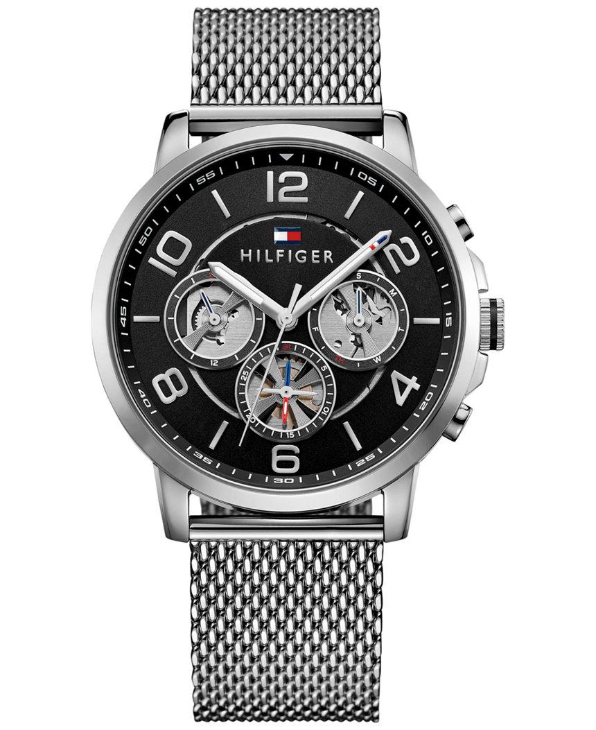 1791292 Tommy Hilfiger Men's Sophisticated Sport Stainless Steel Mesh Bracelet Watch