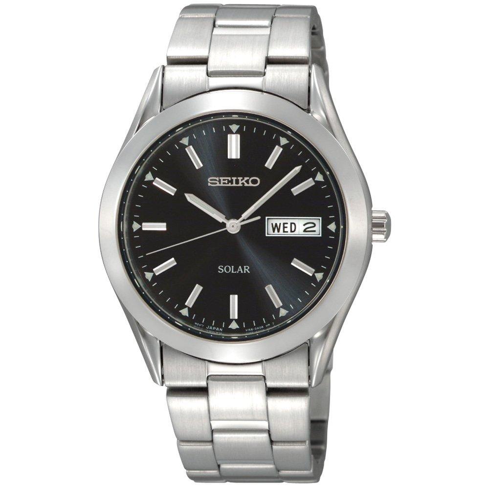 SNE039 Seiko Men's Solar Black Dial Watch