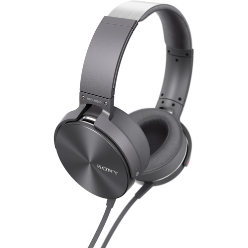 MDR-XB950AP Extra Bass Headphones in Gray