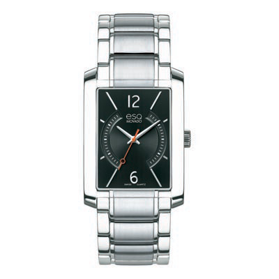 07301405 Men's ESQ Movado Synthesis Watch with Rectangular Black Dial
