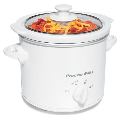 33015Y Proctor Silex 1.5 Quart Round Slow Cooker