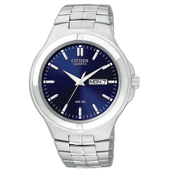 BF0590-53L Citizen Quartz Men's Blue Dial Analog Stainless Watch