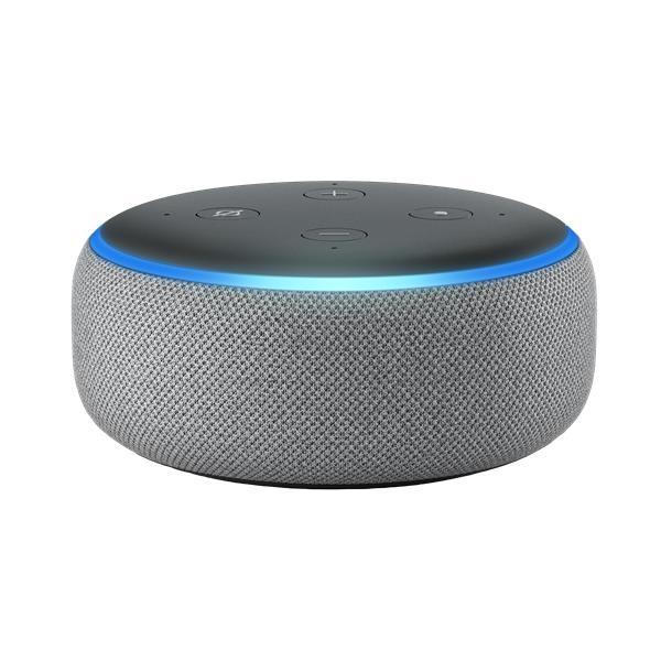 B0792K2BK6 Amazon Echo Dot 3rd Generation in Heather Gray