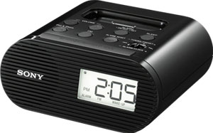 ICF-C05IPBLK Sony Clock Radio for iPod