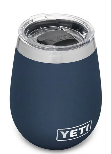 Yeti 10oz. Wine Stainless Steel WineTumblers with MagSlider Lid