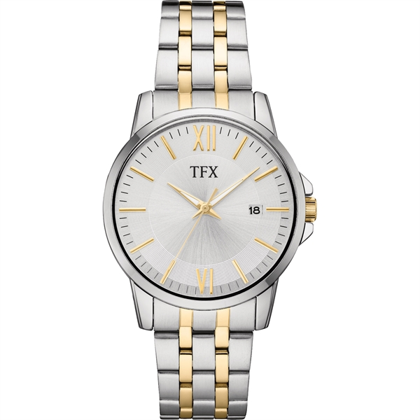 38B102 TFX Men's Two Tone Stainless Steel Watch