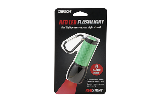 SL-33 RedSight red LED flashlight for low-light use