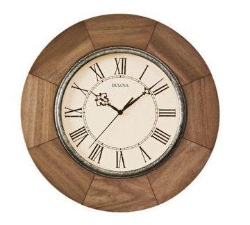 C4223 Bulova Dakota Wall Clock