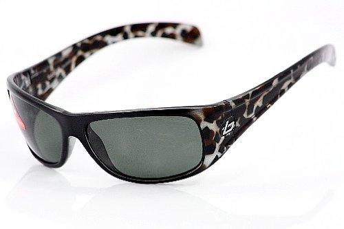 11340 Bolle Sonar Black Brown Tortoise Polarized TNS Sunglasses For Men