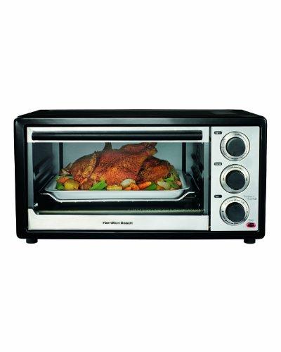 31506 Hamilton Beach Convection 6 Slice/Broiler Toaster Oven