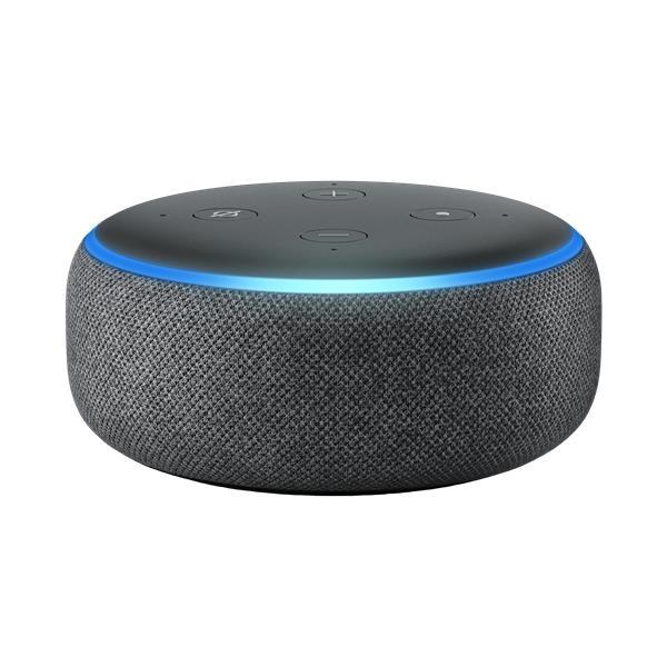 B0792KTHKJ Amazon Echo Dot 3rd Generation in Charcoal