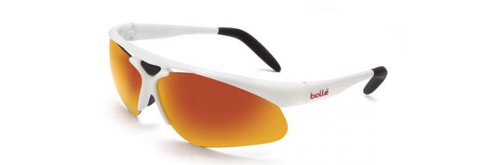 11448 Bolle VIGILANTE SHINY WHITE NON POLAR TNS FIRE 9 BASE Sunglasses for Men