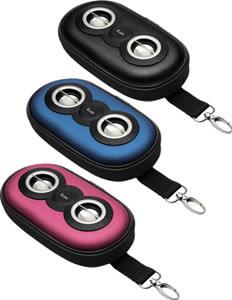 isp110 iLuv SmashBox Portable Amplified Stereo Speaker Case