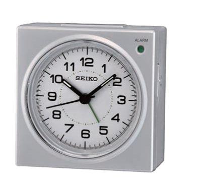 QHE086SLH  Seiko Beep Alarm Bedside Clock